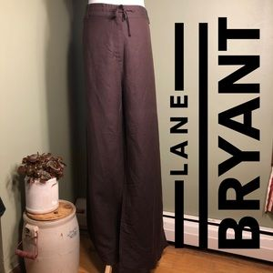 26/28 Lane Bryant brown NWT pants